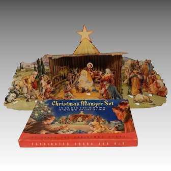 Christmas Manger Set