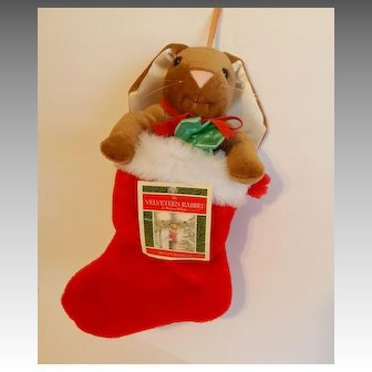 The Velvetten Rabbit Christmas Stocking