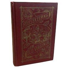 Housekeeping In Old Virginia cookbook