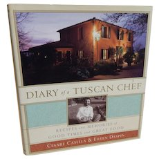 Diary of a Tuscan Chef Cookbook