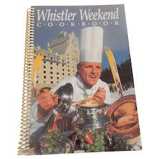 Whistler Weekend Cook book