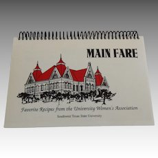 Main Fare Southwest Texas State University Cookbook