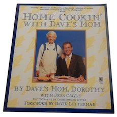 Home Cookin' With Dave's Mom Cookbook by Dorothy Letterman