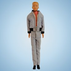 Mattel  Ken Doll Wearing Yachting Outfit 1960