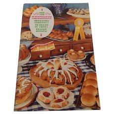 The Fleischmann Treasury Of Yeast Baking Cookbook Booklet