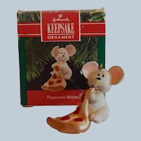Hallmark Keepsake Pepperoni Mouse Christmas Ornament
