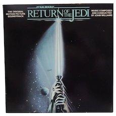 Star Wars Return Of THe Jedi Record Album