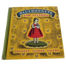 Bluebonnets For Lucinda by Frances Clarke Sayers