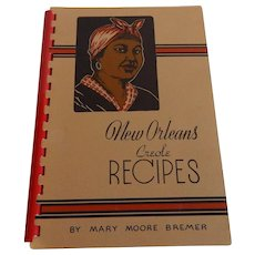 New Orleans Creole Recipes Cookbook by Mary Moors Bremer