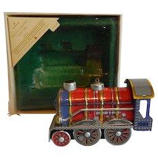 Hallmark Keepsake Tin Locomotive Christmas Ornament