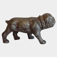 Cast Metal Bull Dog Figurine
