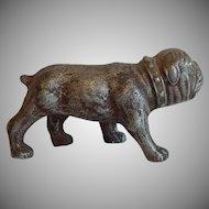 Cast Metal Bull Dog Figurine