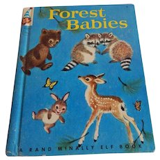 Rand McNally Elf Book Forest Babies