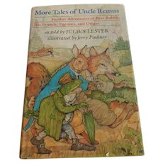 More Tales Of Uncle Remus by Julius Lester