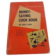 Money Saving Cook Book by Ida Bailey Allen