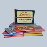 The Rev. W. Awdry's Famous Railway Series Station Book Box 26 Books