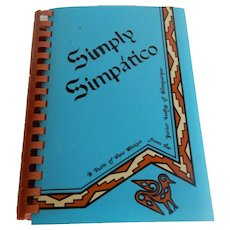 Simply Simpatico Cook Book New Mexico