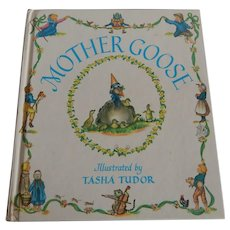 Mother Goose Illustrated by Tasha Tudor