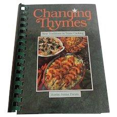 Changing Thymes Austin Junior Cookbook