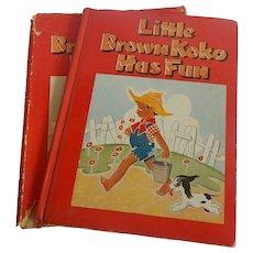 Little Brown Koko Has Fun
