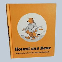 Hound and Bear by Dick Gackenbach