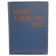 Music Americans Sings 1949