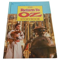 Walt Disney Pictures The Return To Oz Storybook
