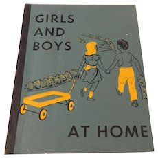 Girls And Boys At Home   School Reader