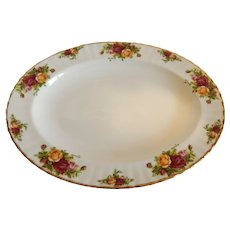 Royal Albert Old Country Roses Platter
