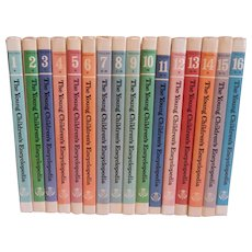 Complete Set of Britannica The Young Children's Encyclopedia