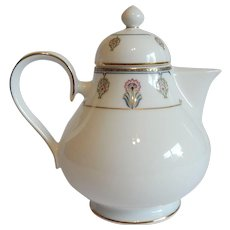 Noritake Gilded Blossoms Teapot