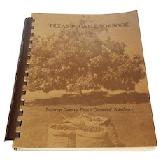 Texas Pecan Cookbook Bastrop Texas