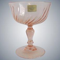 Cristal D'Arques Durand Pink Sherbet