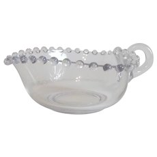 Candlewick Heart Crystal Dish Imperial Glass