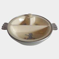 Child's Feeding Warming Dish