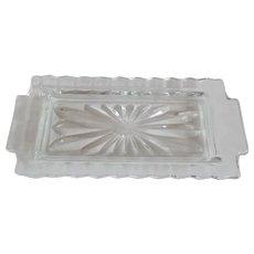 Fostoria American Butter Dish No lid