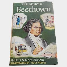 The Story Of Beethoven Signature Book