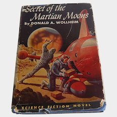 Secret Of The Martian Moons by Donald A. Wollheim