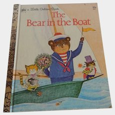 Little Golden Book The Bear in the Boat