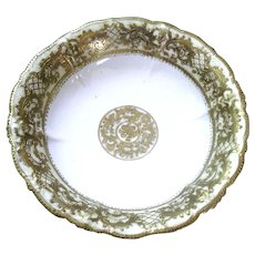 Nippon Noritake Gold Bowl ~  ca. 1906-1911 RC Royal Crockery ~ Meiji Period (1868- 1912)