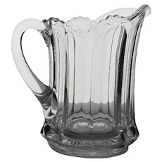 Heisey Glass Marked Colonial Pitcher c.1920-1930's