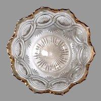 US Glass Star in Bullseye Pattern # 15092 California, c. 1905