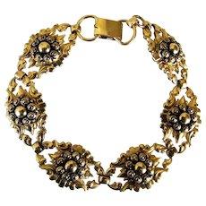 1920 Binder Bros. Gold Link Bracelet 1/20th of 12 KT