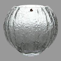 "Timo Sarpaneva for Iittala Finland ""Minora"" Vase Ice Artglass Line, c. 1967"