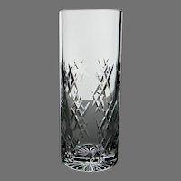 Vintage Tiffany & Company Heavy Cut Crystal Vase