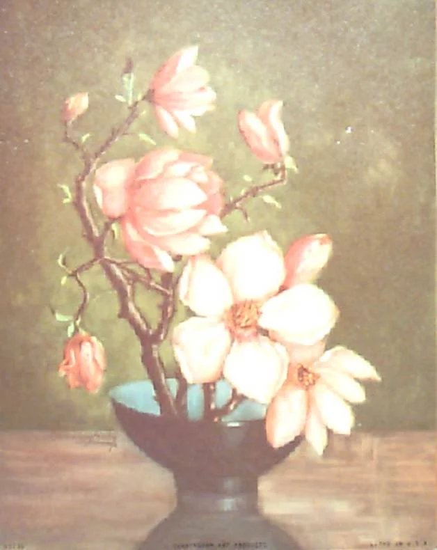 Zichy Group Of 8 Floral Prints By Countess Zichy