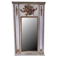 Trumeau Mirror with Musical Design