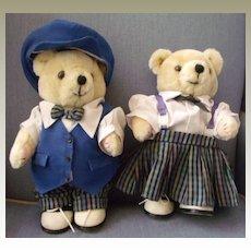 Girl and Boy Stuffed Bear Toys