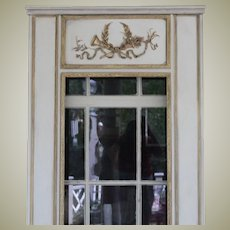 Floor Mirror in Trumeau French Style
