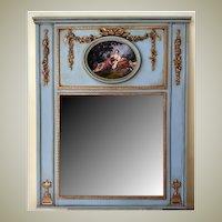 Mirror Trumeau French Blue